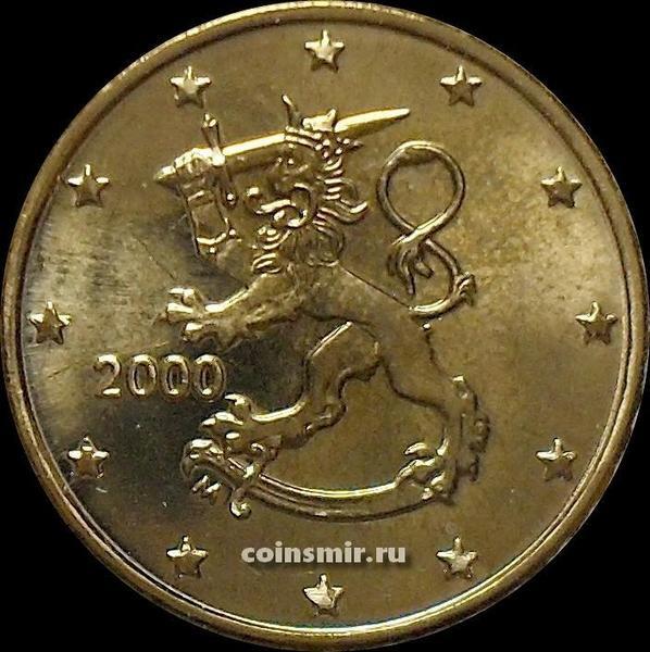 10 евроцентов 2000 Финляндия.