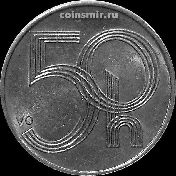 50 геллеров 2002 Чехия.