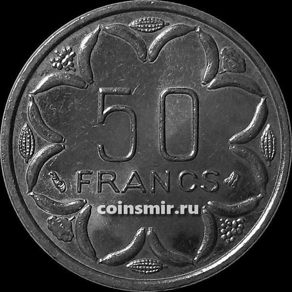 50 франков 1996 Центральная Африка.