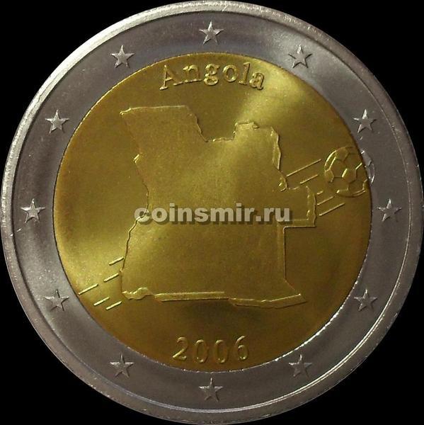 Жетон. Чемпионат мира по футболу 2006. Ангола.