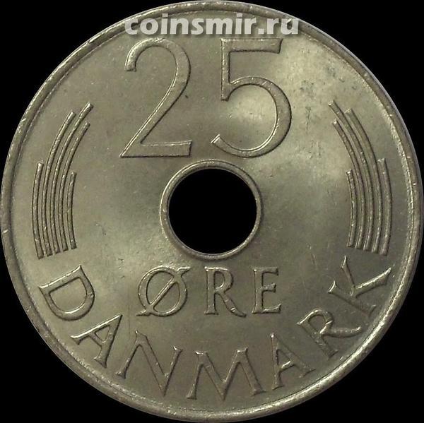 25 эре 1980 Дания. (в наличии 1978 год)