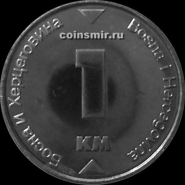 1 марка 2009 Босния и Герцеговина. (в наличии 2008 год)