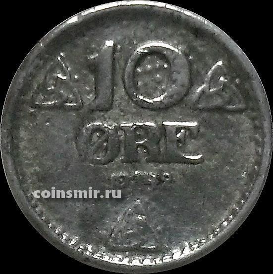 10 эре 1942 Норвегия.