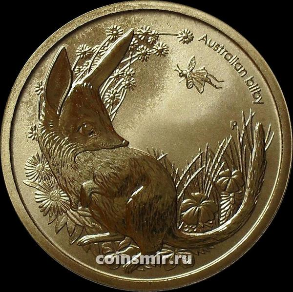 1 доллар 2011 Австралия. Кроличий бандикут.