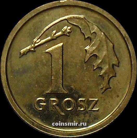 1 грош 2014 Польша.