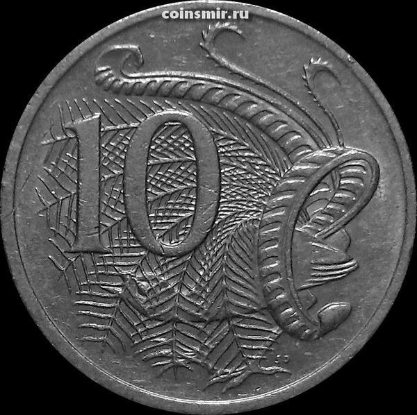 10 центов 2000 Австралия. Лирохвост.