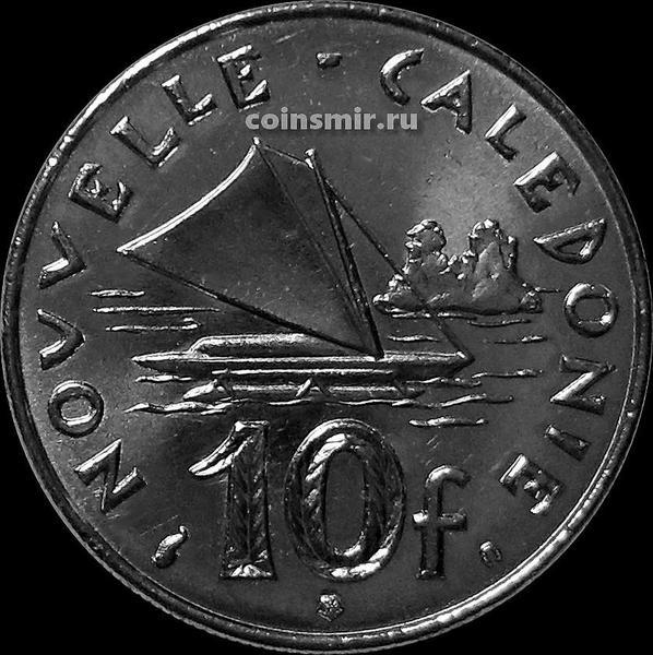 10 франков 2001 Новая Каледония.
