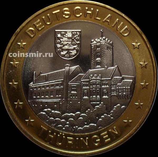 Жетон Тюрингия Германия.