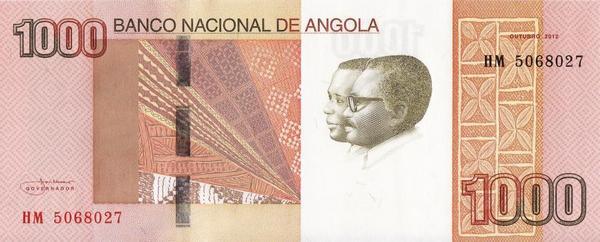 1000 кванз 2012 (2013) Ангола.