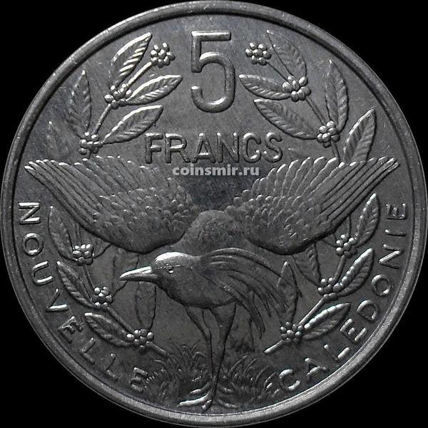 5 франков 2002 Новая Каледония.
