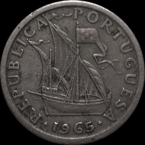 2,5 эскудо 1965 Португалия.