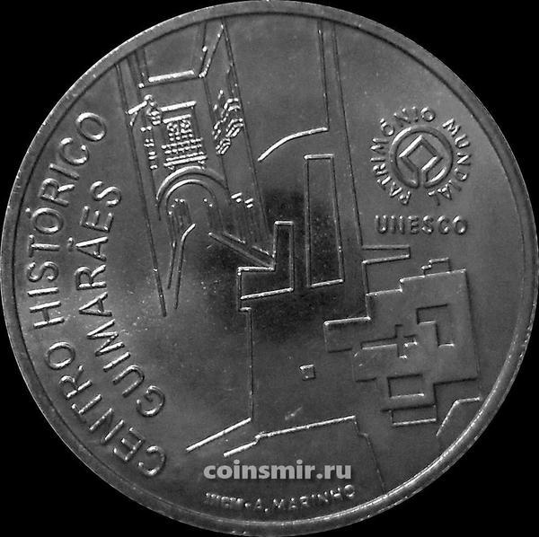 2,5 евро 2012 Португалия. Исторический центр Гимарайнша.