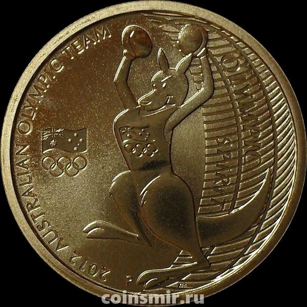 1 доллар 2012 Австралия. Сборная Австралии на Летних Олимпийских играх 2012 в Лондоне.