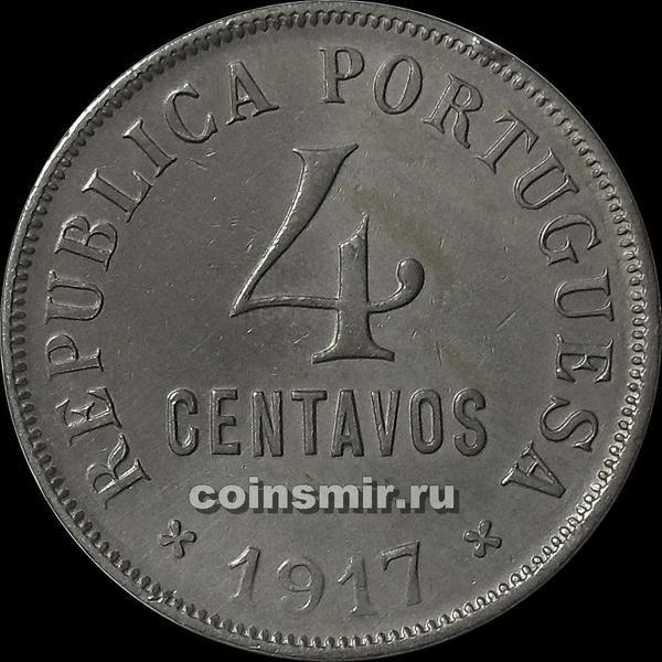 4 сентаво 1917 Португалия.