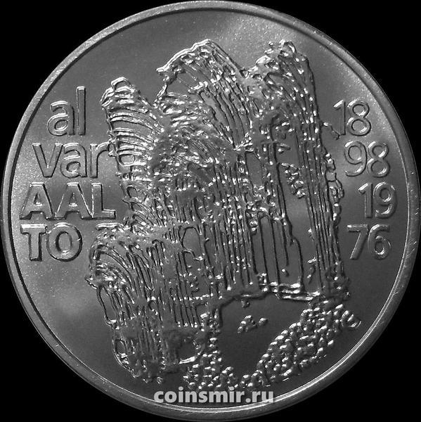 100 марок 1998 Финляндия. 100 лет со дня рождения Алвара Аалто.