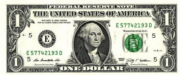 1 доллар 2009 Е США.