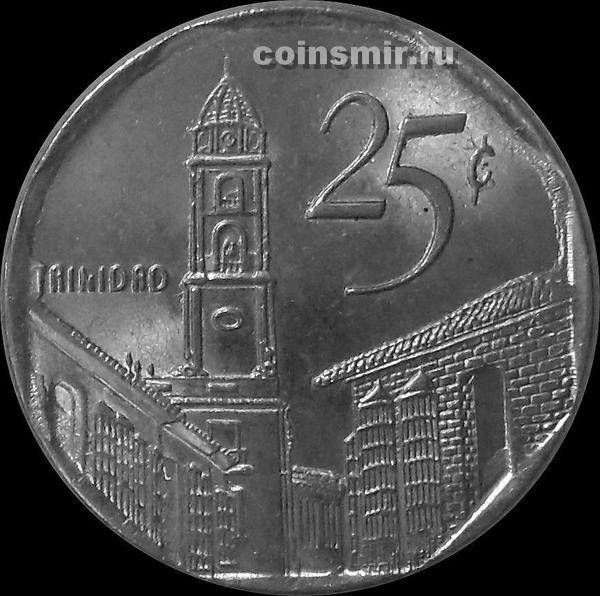 25 сентаво 2003 Куба.