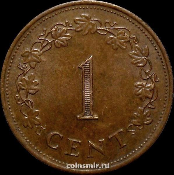 1 цент 1982 Мальта.