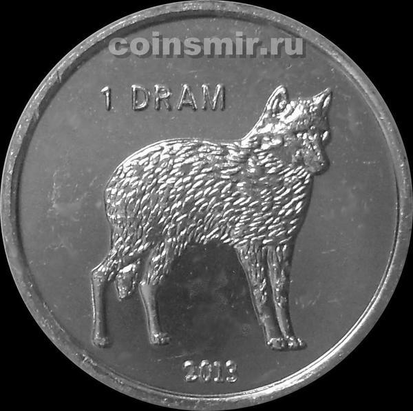 1 драм 2013 Нагорный Карабах. Волк.