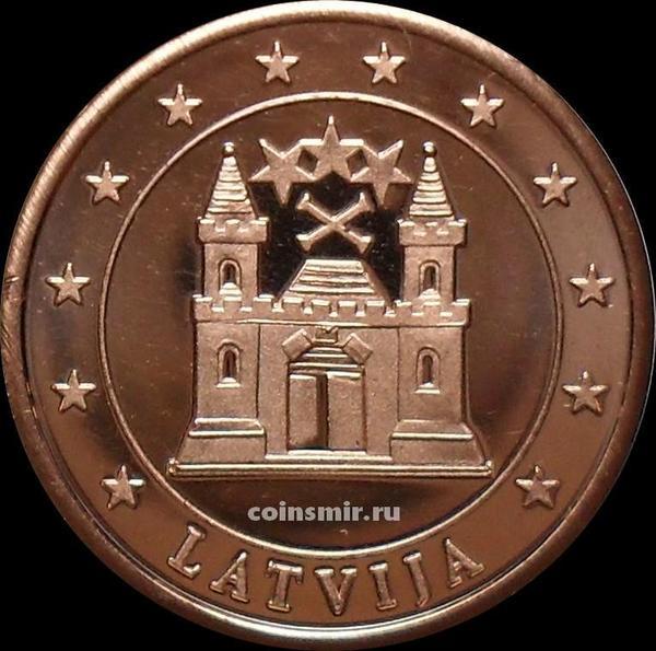 5 евроцентов Латвия. Без даты. Европроба. Specimen.