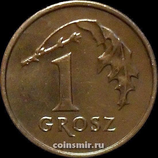 1 грош 2008 Польша.