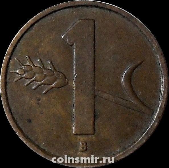 1 раппен 1952 Швейцария.