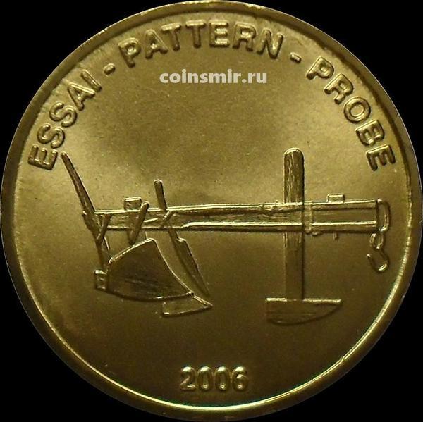 50 евроцентов 2006 Мальта. Европроба. Xeros-ceros.