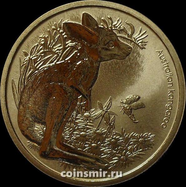 1 доллар 2011 Австралия. Кенгуру.