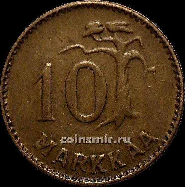 10 марок 1955 Н Финляндия.