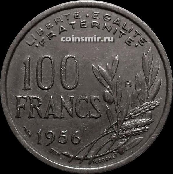 100 франков 1956 В Франция.