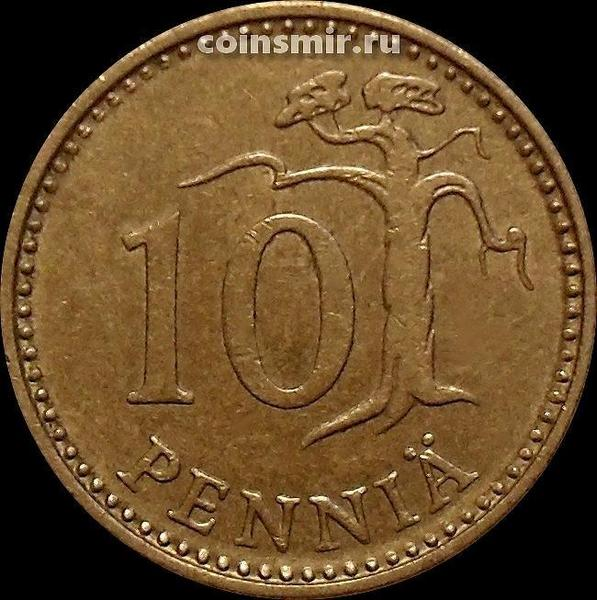 10 пенни 1982 К Финляндия.