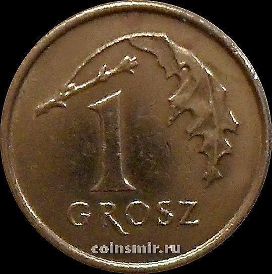 1 грош 1995 Польша.