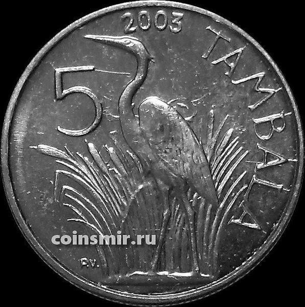 5 тамбала 2003 Малави. Цапля.
