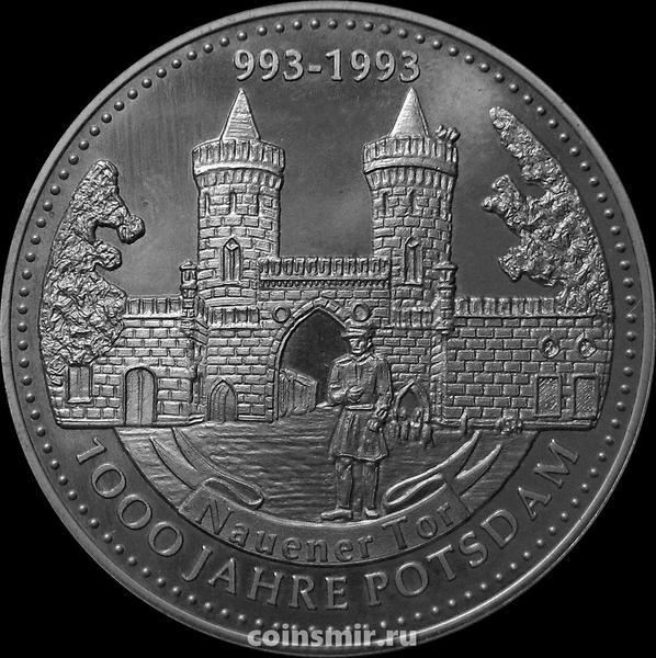 Жетон 1993 Германия. Науэнские ворота. 1000 лет Потсдаму.