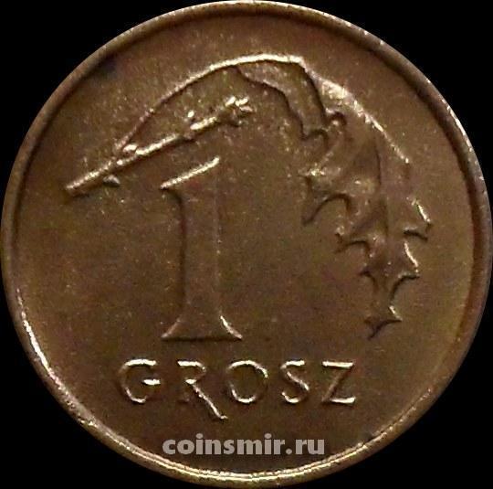 1 грош 1992 Польша.