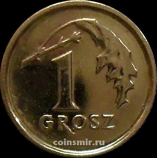 1 грош 2015 Польша.