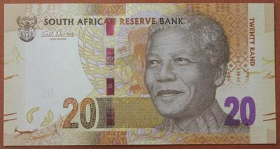 ЮАР 20 рандов 2012 год