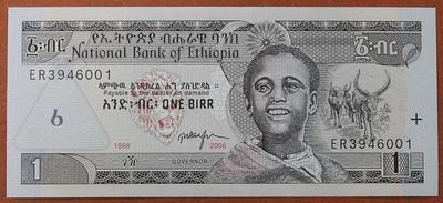 Эфиопия 1 быр 1998-2006 год
