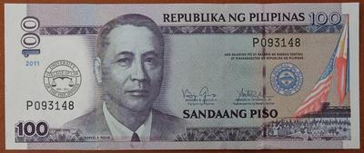 Филиппины 100 песо 2011 год