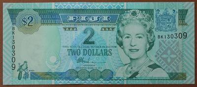 Фиджи 2 доллара 2002 год