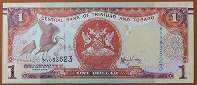 Тринидад и Тобаго 1 доллар 2006 год