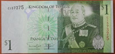 Тонга 1 паанга 2008 год