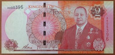 Тонга 2 паанги 2015 год