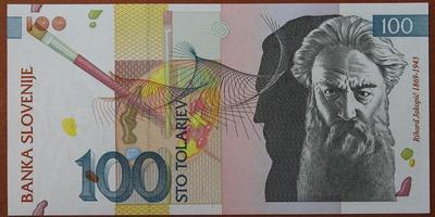 Словения 100 толаров 2003 год
