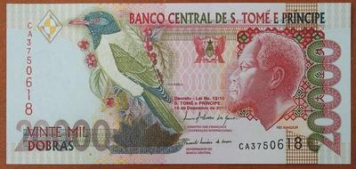 Сан-Томе и Принсипи 20000 добр 2010 год