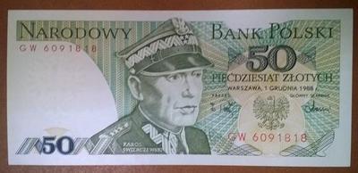 Польша 50 злотых 1988 год