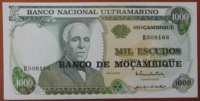 Мозамбик 1000 эскудо 1976 год