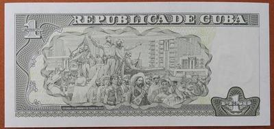 Куба 1 песо 2011 год