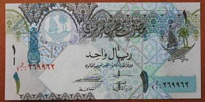 Катар 1 риал 2008 год