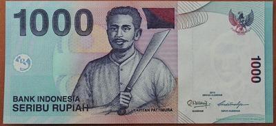 Индонезия 1000 рупий 2000(2013) год